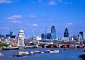 Massive cranes dot the London skyline