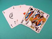 Постер, плакат: Покер полный дом