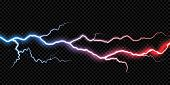 Lightning Thunder Bolt Electricity Flash Spark Thunderbolt Storm Light Vector Transparent Background poster