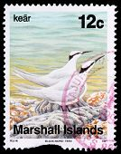 A 12-cent Stamp Printed In The Republic Of The Marshall Islands