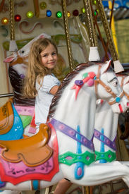 pic of carnival ride  - Merry - JPG