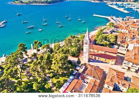 poster of Town Of Novigrad Istarski Historic Center Architecture And Sailing Coastline View, Archipelago Of Is
