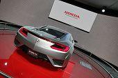 Grey Honda Nsx Concept