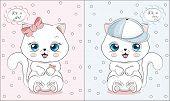 Little Kitten Its A Girl Or Boy poster