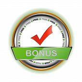 White bonus icon