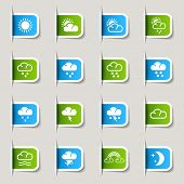 Label- Weather Icons