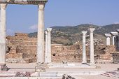 Tomb Of John The Apostle At The Basilica Of St. John. Ephesus Ancient City Old Ruins, Turkey poster