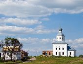 Christianity Church Of St. Elias In Russia, Suzdal (Series Landmarks And Church) poster