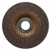 Abrasive disk for metal grinding