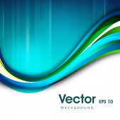 Abstract waves background, can be use for flyers and corporate presentations. EPS 10.