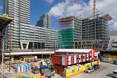 The Hague - September 05: Building Activities At The New Central Station Of The Hague On September 0