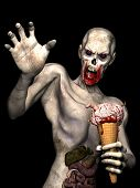 Zombie Gehirn Creme Kegel