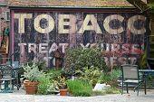 Old Tobacco Billboard