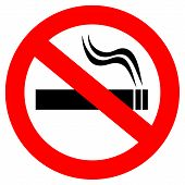 No Smoking-Vektor-sign