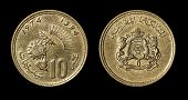 Antique Coin Of African Country