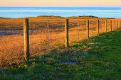 Rustic Beach Fence