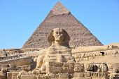 Great Sphinx of Giza and the Pyramid of Khafre