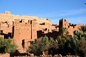 Ancient City Of Ait Benhaddou, Morocco poster