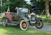 Historical 1929 model A Ford