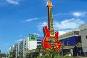 Guitar Emblem Of Hard Rock Casino In Beloxi