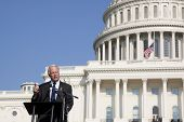 WASHINGTON-SEPT 11: Rep Paul Broun (R-GA) speaks at the 911 Justice for Benghazi rally at the US Cap