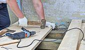 Work On Plank Floor