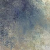 art abstract background in beige and blue color