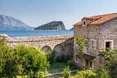View on old town of Budva. Montenegro, Balkans, Europe. Beauty world.