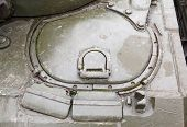 driver's hatch mechanics of the T-54