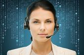stock photo of helpdesk  - business - JPG
