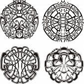 Symmetrical Knot Patterns