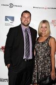 LOS ANGELES - SEP 19:  Max Adler, Jennifer Bronstein at the Heller Awards 2013 at Beverly Hilton Hot