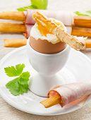Boiled Egg In Eggcup