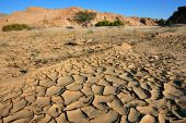 Dry River, Namib Desert, Namibia