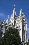 Salt Lake Temple East Side