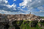 "picture of sassy  - Matera (Southern Italy) famous for its ancient town ""Sassi di Matera"" (meaning stones of Matera).