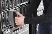 IT Engineer maintain Blade Server in Data Center