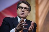 NATIONAL HARBOR, MD - MARCH 7, 2014: Governor Rick Perry (R-TX) speaks at the Conservative Political