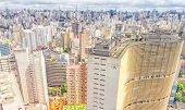 View Of Sao Paulo And The Famous Copan Building