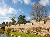 Bishops Palace Moat Well Somerset