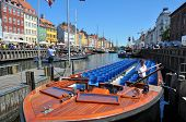 boat at Nyhavn, Copenhagen