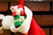 Geschenk-Boxen In eine Socke Christmas