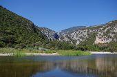 Pond Cala Luna. Sardinia