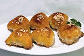 Barbecue Pork Pastry Dim Sum