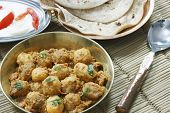Kashmiri Dum Aloo Is A Deep Fried Baby Potatoes Cooked In Yogurt Gravy With Spices