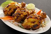 Chicken Tangri - Chicken Leg Piece Is Marinated In Curd, Ginger Garlic And Spices
