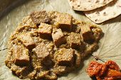 Dhokar Dalna is a Bengal dish