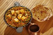 Mattar Paneer Is A North Indian Dish