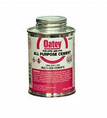 Can Of Oatey Cement