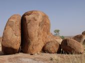 Rock formation at Devils Marbles